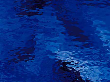 Dark blue - Water Glass