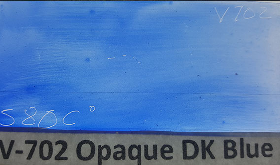 Dark Blue Opaque Enamel Paint