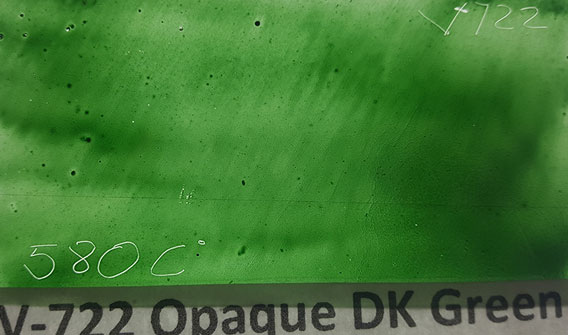 Dark Green Opaque Enamel Paint