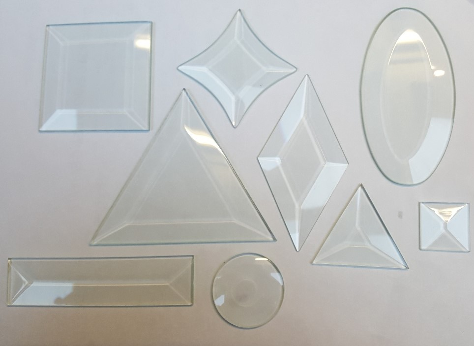 Clear Glass Bevels
