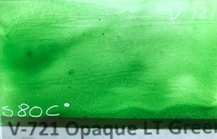 Light Green Opaque Enamel Paint