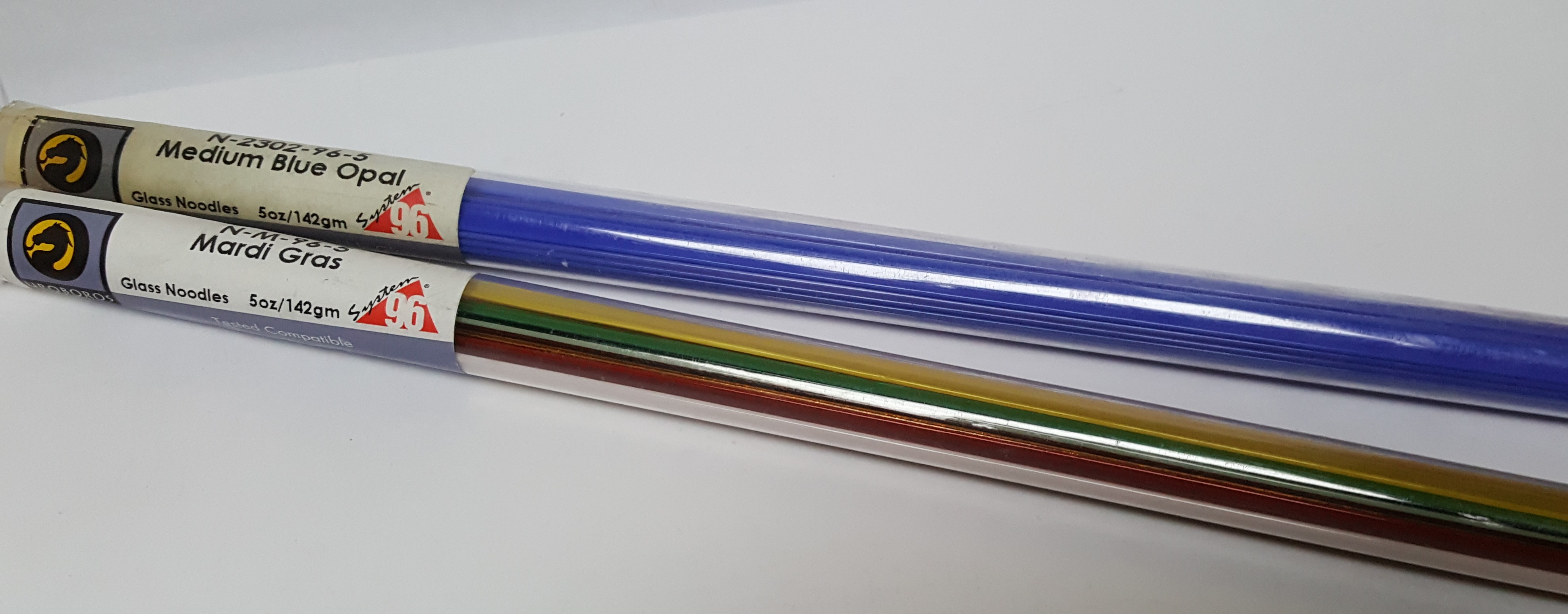 Spectrum 96 Fusible Glass Noodles