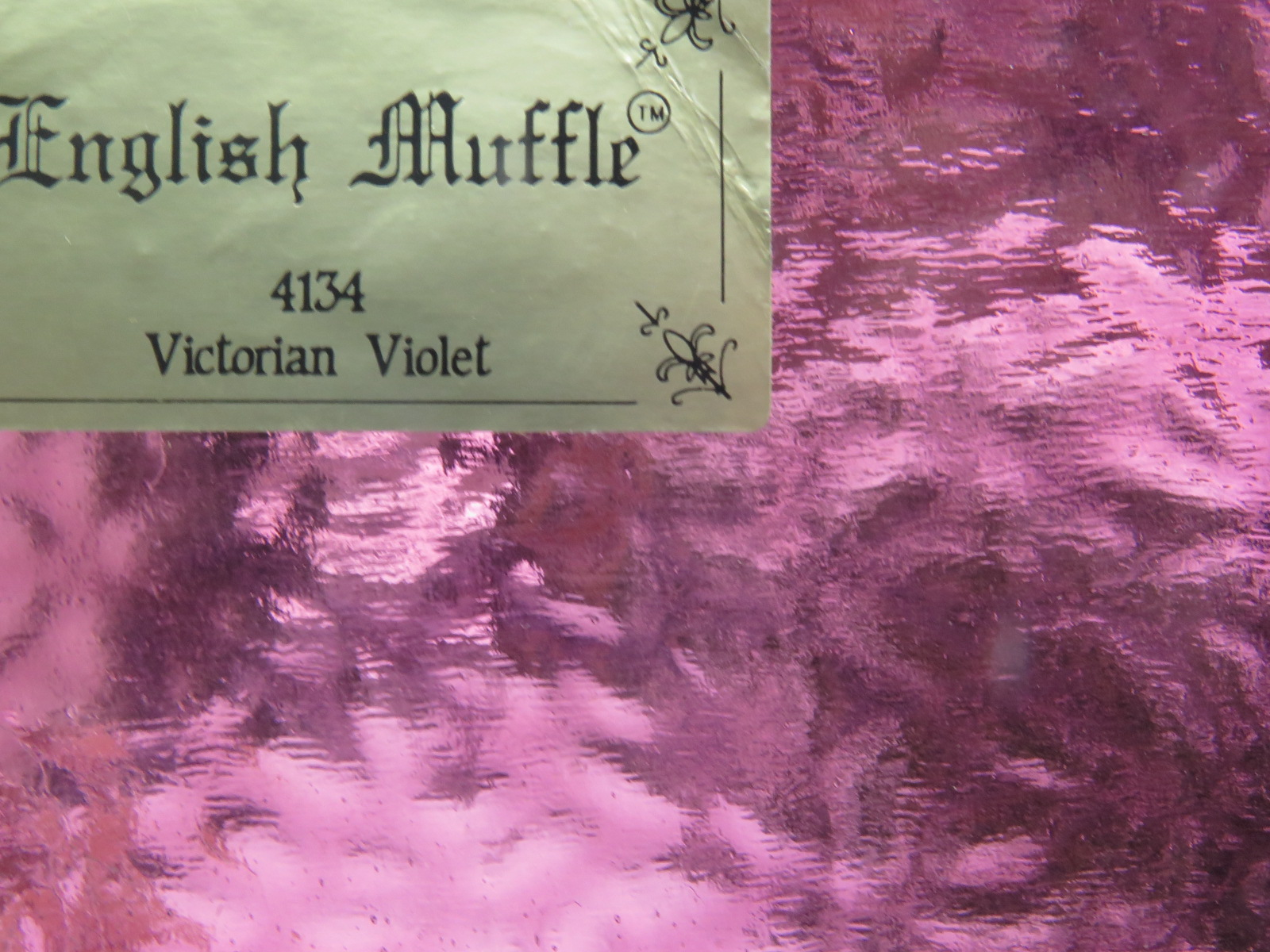 English Muffle/Wissmach Victorian Violet